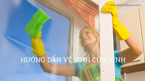 10 cách vệ sinh cửa kính đơn giản, hiệu quả