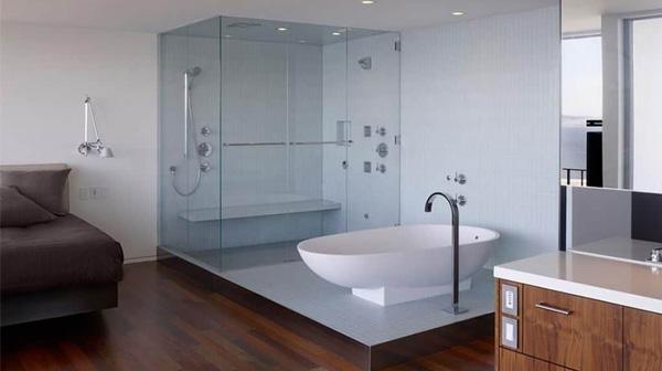 Vách tắm kính vuông góc có giá bán bao nhiêu tiền