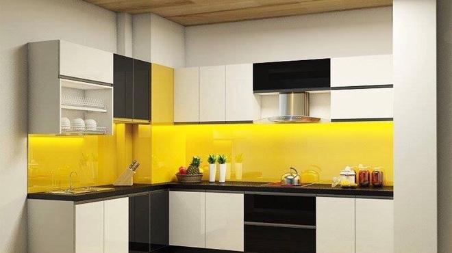 Tìm hiểu về phong thủy trong kính màu ốp bếp