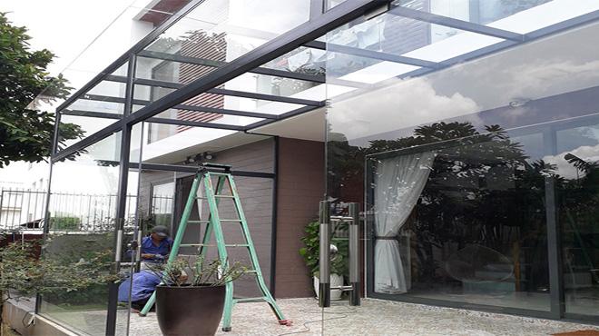 Những vị trí nên sử dụng kính cường lực cho ngôi nhà